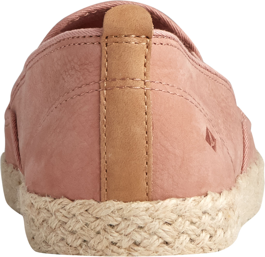 Women's Sperry Top-Sider Sailor Twin Gore Leather/Jute Sneaker, Blush Leather, large, image 4