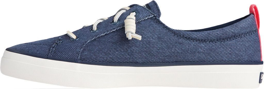 Women's Sperry Top-Sider Crest Vibe Washed Twill Sneaker, Navy Washed Twill, large, image 3