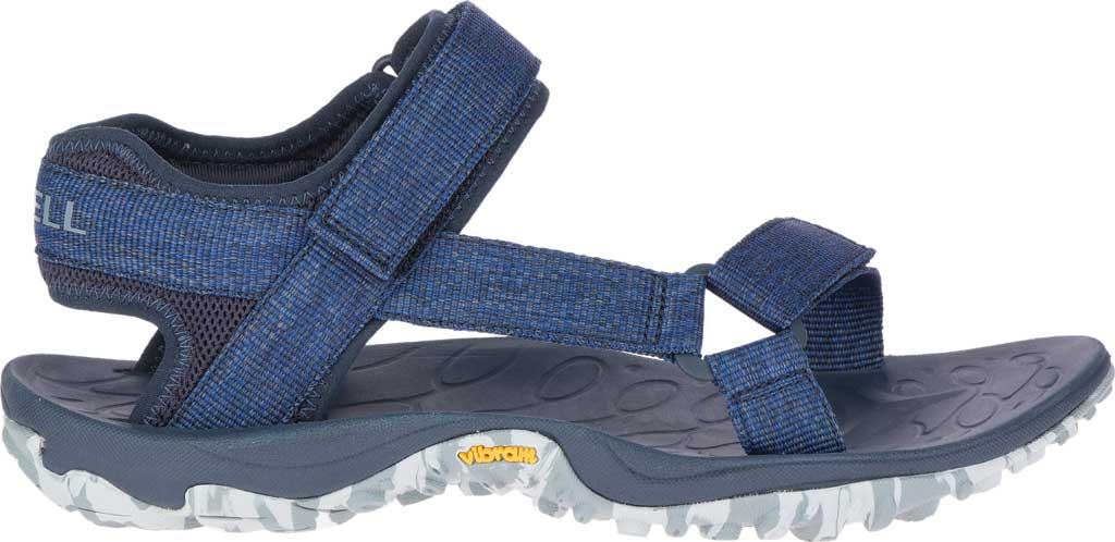 Men's Merrell Kahuna Web Active Sandal, Navy Eco Nylon Webbing/Mesh, large, image 2