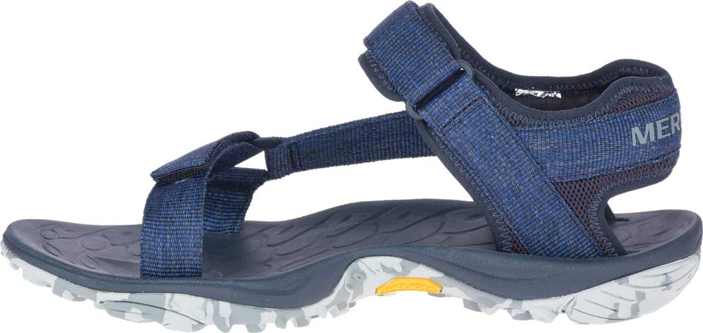 Men's Merrell Kahuna Web Active Sandal, Navy Eco Nylon Webbing/Mesh, large, image 3