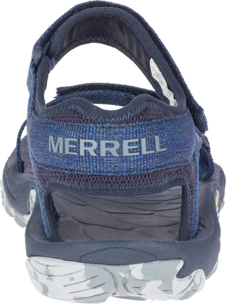 Men's Merrell Kahuna Web Active Sandal, Navy Eco Nylon Webbing/Mesh, large, image 4