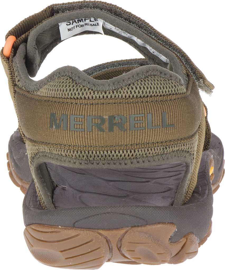Men's Merrell Kahuna Web Active Sandal, Olive Nylon Webbing/Mesh, large, image 4