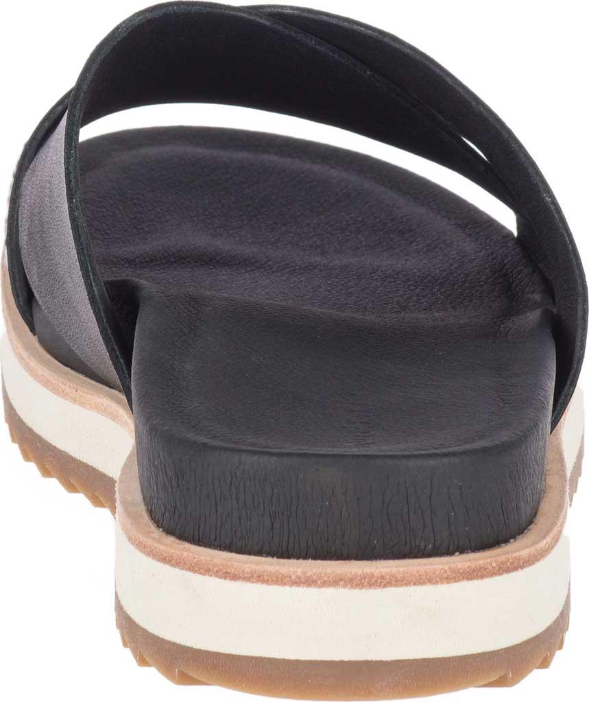 Women's Merrell Juno Slide, Black Full Grain Leather, large, image 4