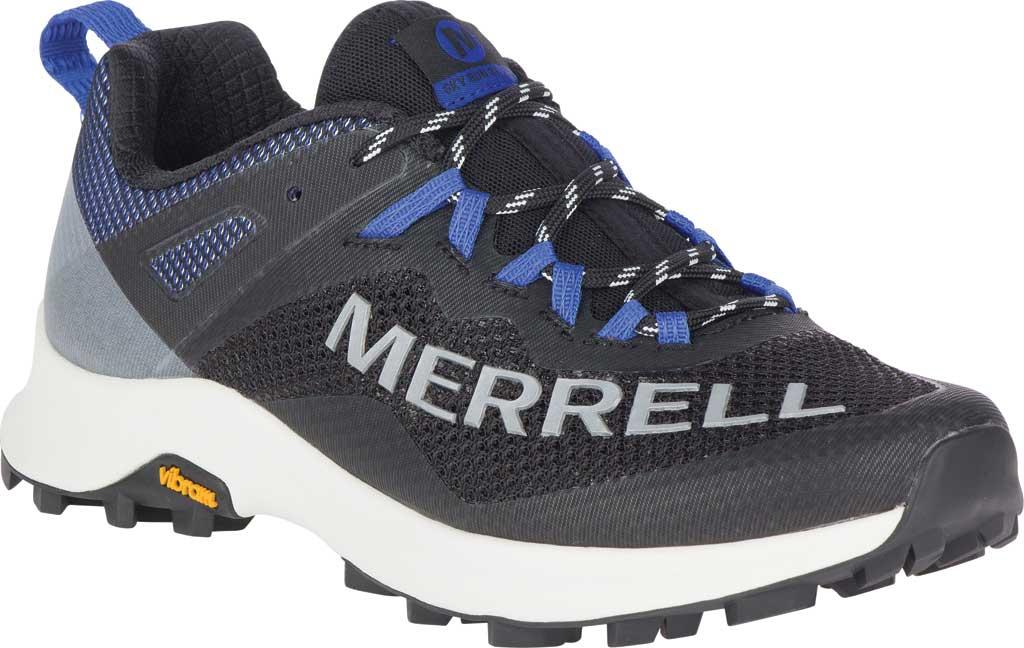 Women's Merrell MTL Long Sky Trail Shoe, Black/Dazzle Mesh/TPU, large, image 1