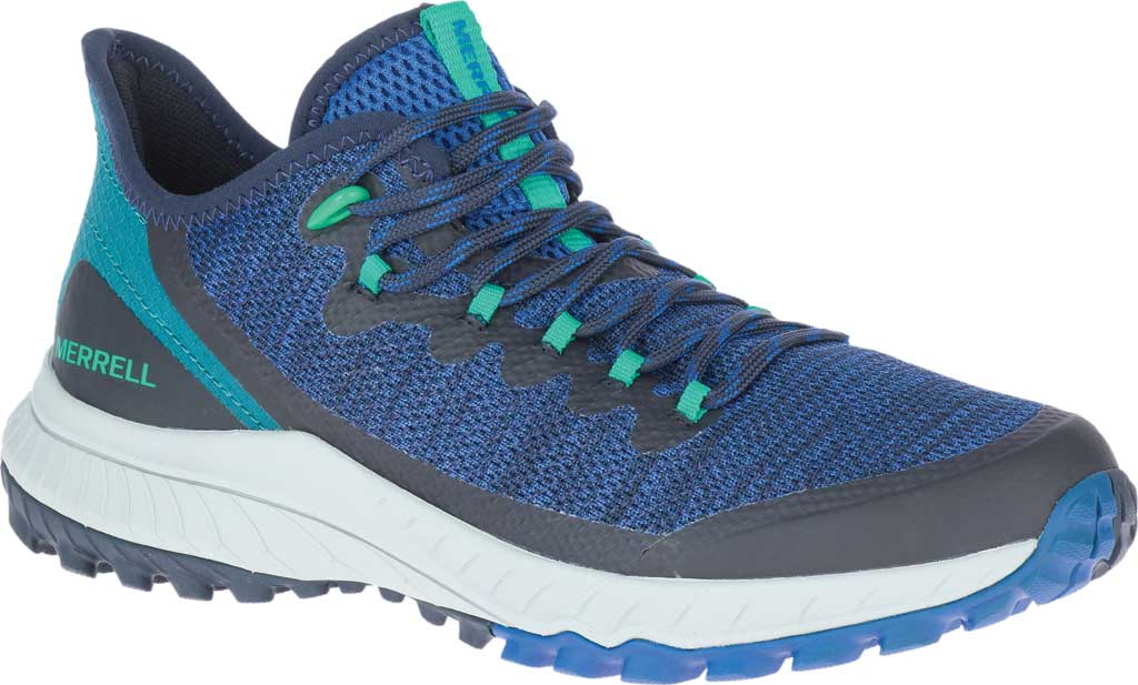 Women's Merrell Bravada Trail Shoe, Cobalt Mesh, large, image 1