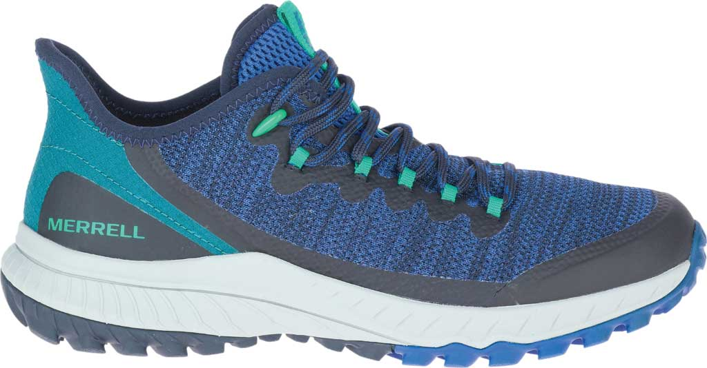 Women's Merrell Bravada Trail Shoe, Cobalt Mesh, large, image 2