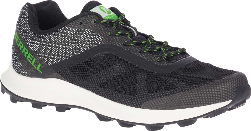 Men's Merrell MTL Skyfire Trail Shoe, Black Mesh/TPU, large, image 1