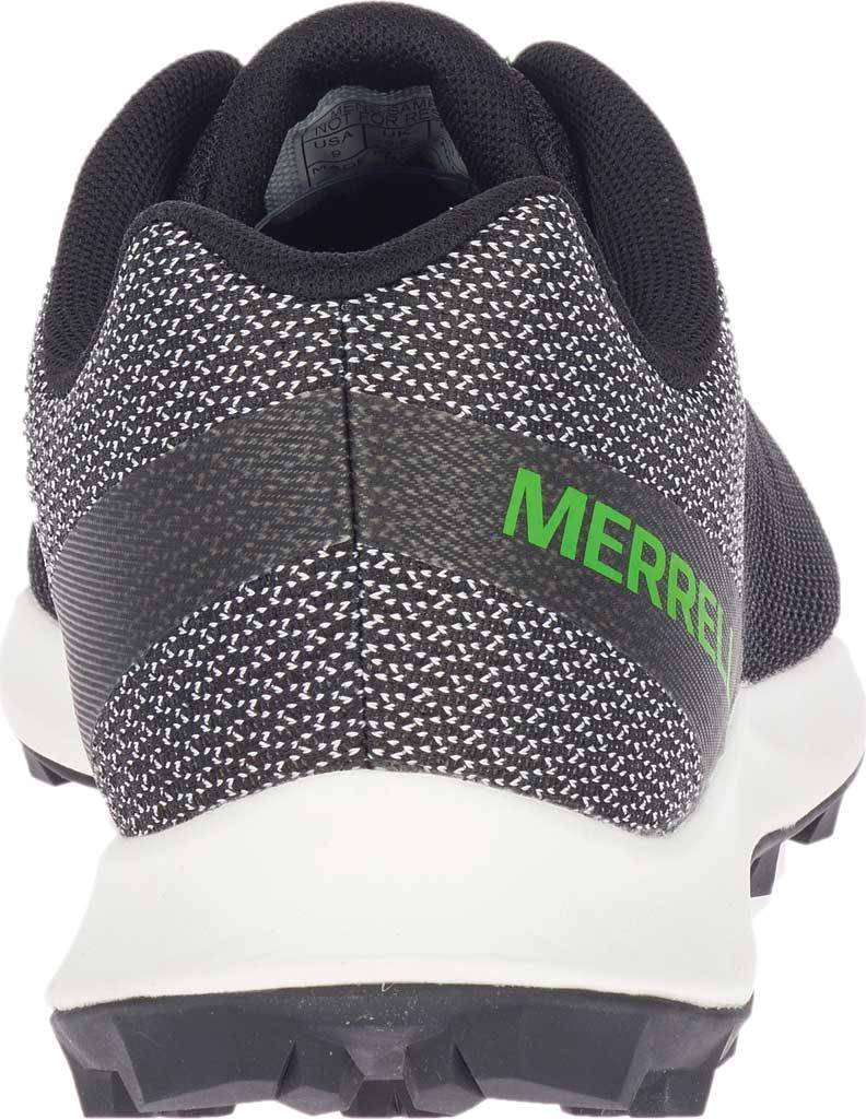 Men's Merrell MTL Skyfire Trail Shoe, Black Mesh/TPU, large, image 4