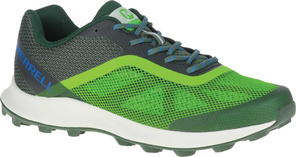 Men's Merrell MTL Skyfire Trail Shoe, Lime/Forest Mesh/TPU, large, image 1