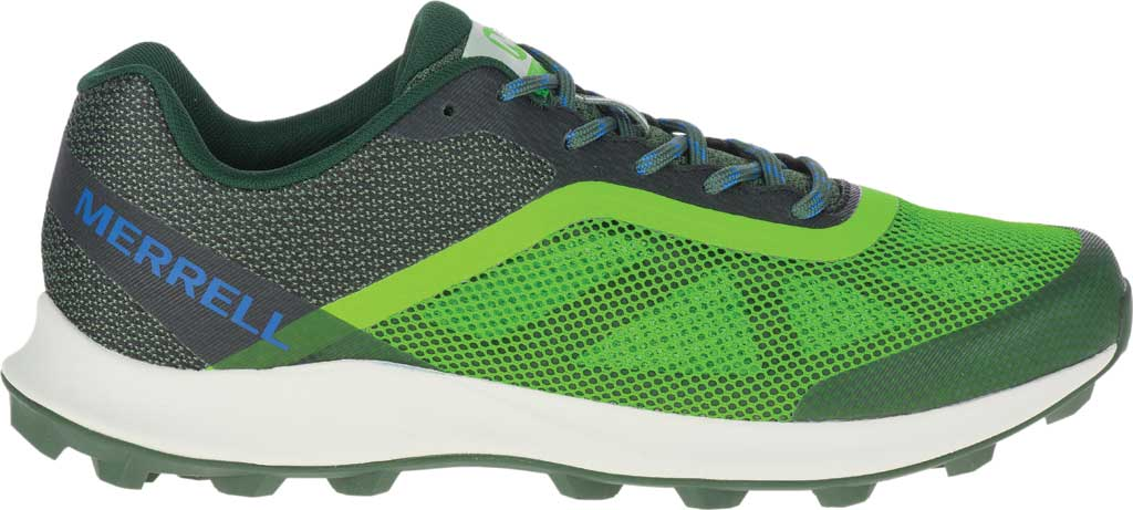 Men's Merrell MTL Skyfire Trail Shoe, Lime/Forest Mesh/TPU, large, image 2