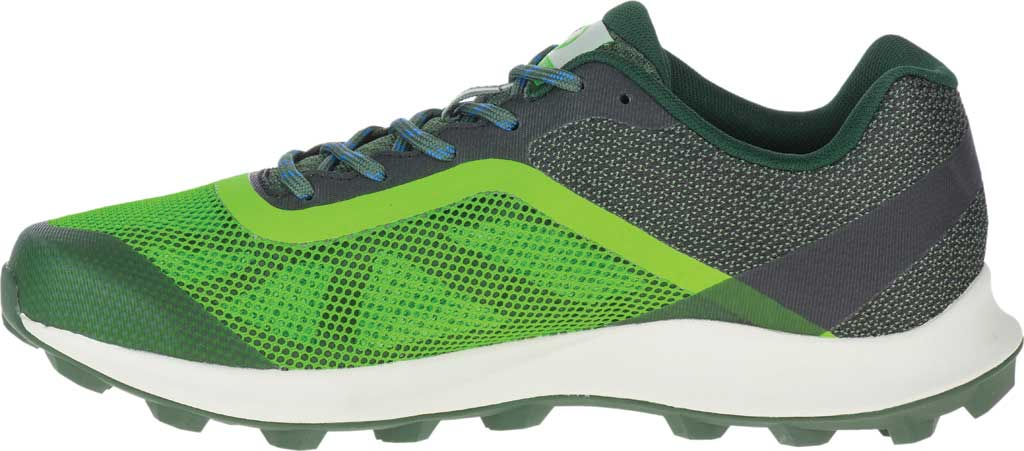 Men's Merrell MTL Skyfire Trail Shoe, Lime/Forest Mesh/TPU, large, image 3