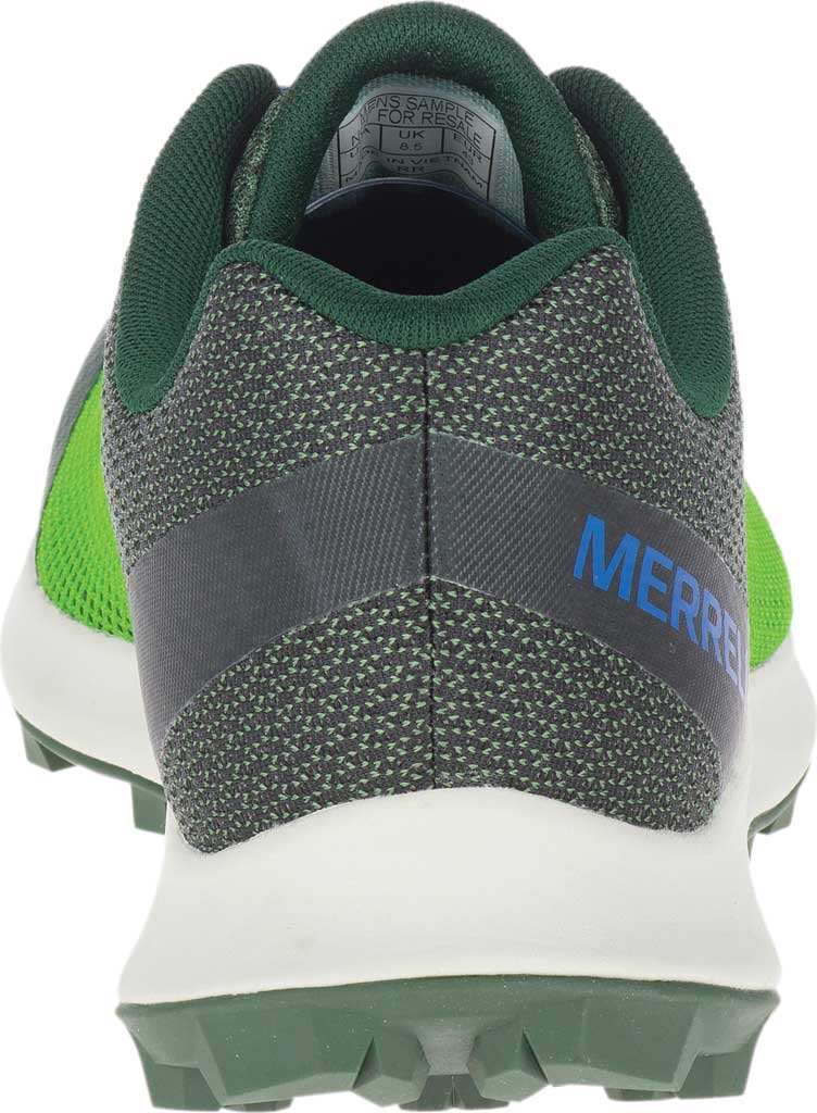 Men's Merrell MTL Skyfire Trail Shoe, Lime/Forest Mesh/TPU, large, image 4