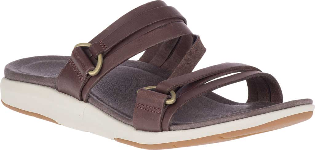 Women's Merrell Kalari Shaw Slide, Bracken Full Grain Leather, large, image 1