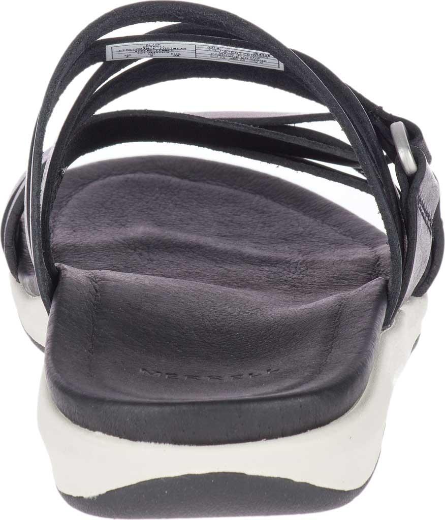 Women's Merrell Kalari Shaw Slide, Black Full Grain Leather, large, image 4