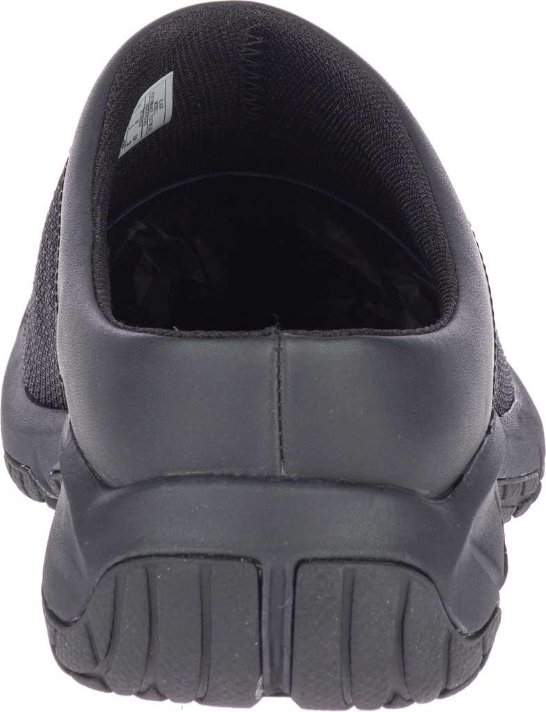 Women's Merrell Encore Breeze 4 Active Clog, Black Mesh/Leather, large, image 4
