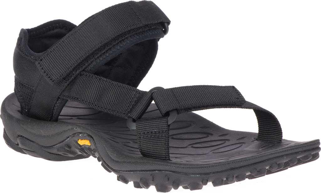 Women's Merrell Kahuna Web Active Sandal, Black Nylon Webbing/Mesh, large, image 1