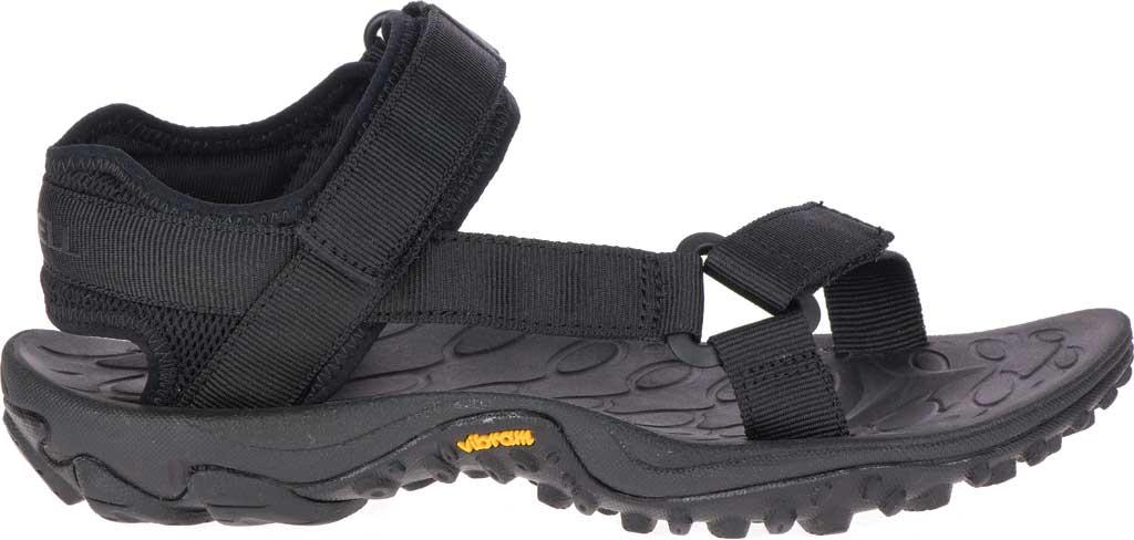Women's Merrell Kahuna Web Active Sandal, Black Nylon Webbing/Mesh, large, image 2