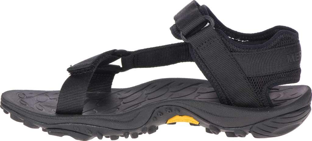 Women's Merrell Kahuna Web Active Sandal, Black Nylon Webbing/Mesh, large, image 3