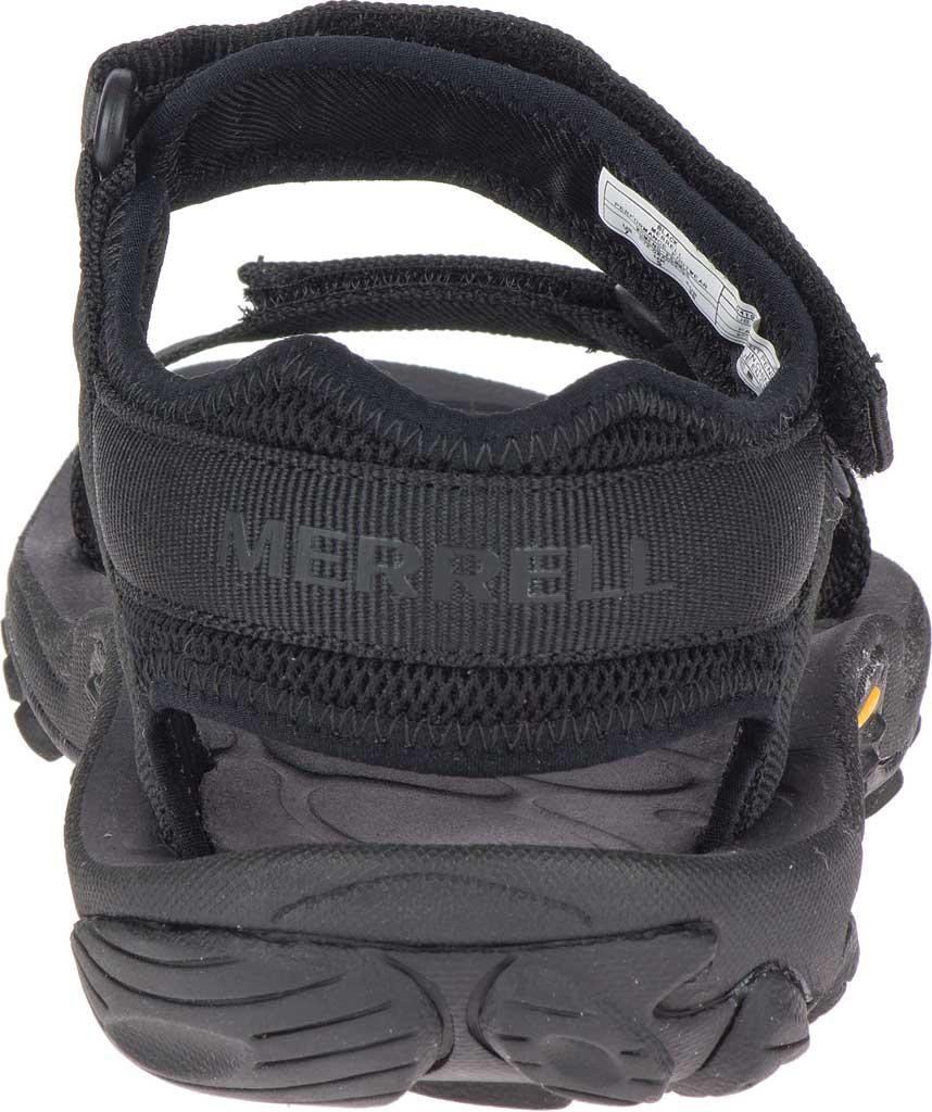 Women's Merrell Kahuna Web Active Sandal, Black Nylon Webbing/Mesh, large, image 4