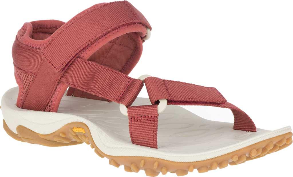 Women's Merrell Kahuna Web Active Sandal, Redwood Nylon Webbing/Mesh, large, image 1