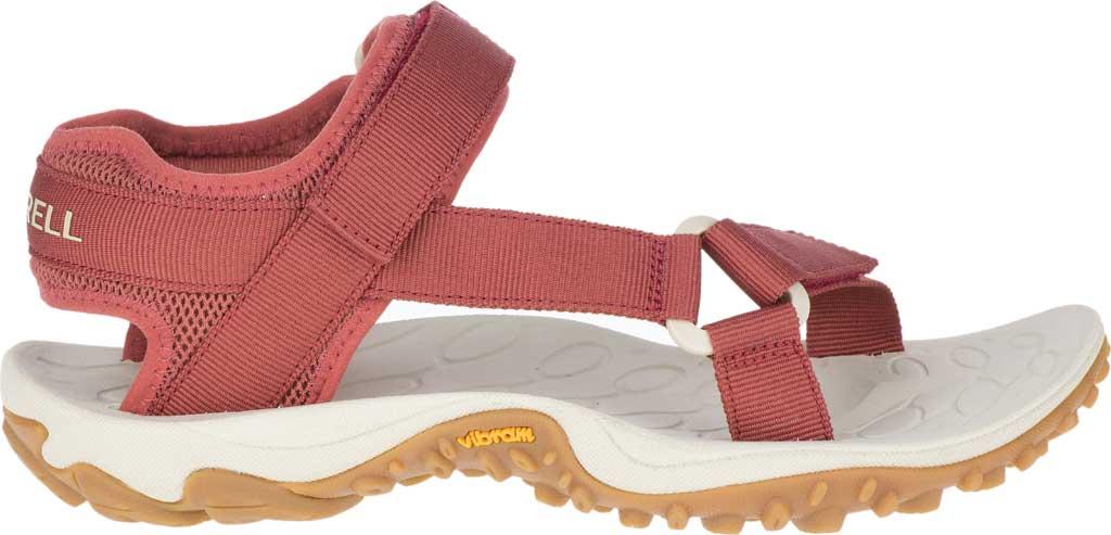 Women's Merrell Kahuna Web Active Sandal, Redwood Nylon Webbing/Mesh, large, image 2