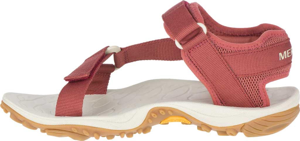 Women's Merrell Kahuna Web Active Sandal, Redwood Nylon Webbing/Mesh, large, image 3