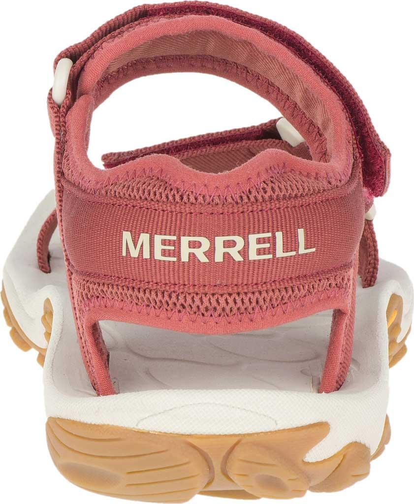 Women's Merrell Kahuna Web Active Sandal, Redwood Nylon Webbing/Mesh, large, image 4
