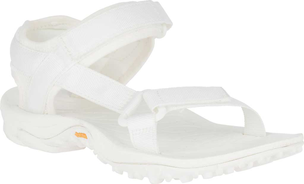 Women's Merrell Kahuna Web Active Sandal, White Nylon Webbing/Mesh, large, image 1