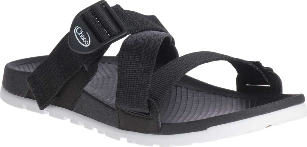 Women's Chaco Lowdown Active Slide, Black, large, image 1