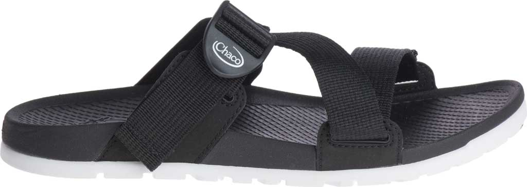 Women's Chaco Lowdown Active Slide, Black, large, image 2