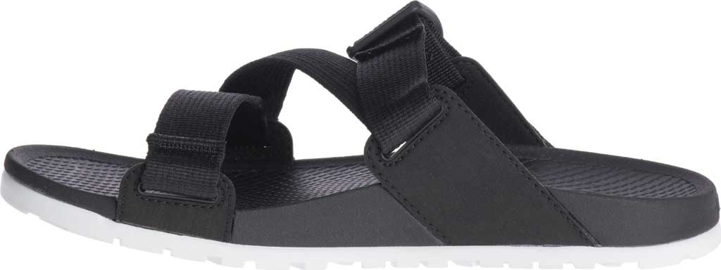 Women's Chaco Lowdown Active Slide, Black, large, image 3