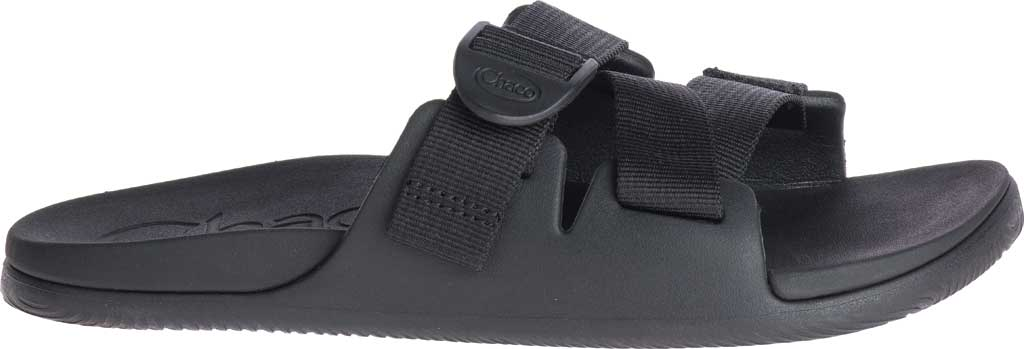 Women's Chaco Chillos Vegan Slide, Black, large, image 2