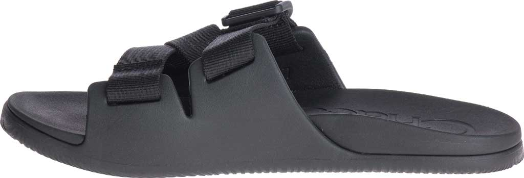 Women's Chaco Chillos Vegan Slide, Black, large, image 3