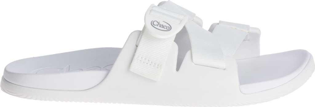 Women's Chaco Chillos Vegan Slide, White, large, image 2