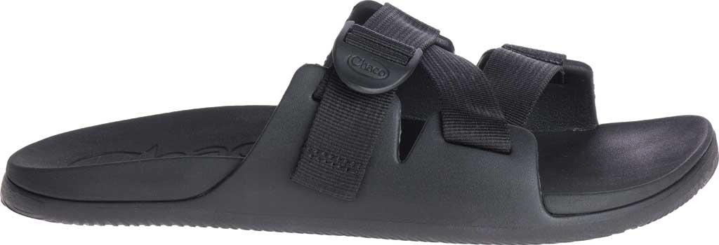 Men's Chaco Chillos Vegan Slide, Black, large, image 2