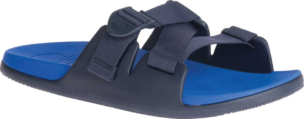 Men's Chaco Chillos Vegan Slide, Active Blue, large, image 1