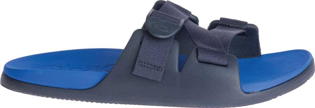 Men's Chaco Chillos Vegan Slide, Active Blue, large, image 2
