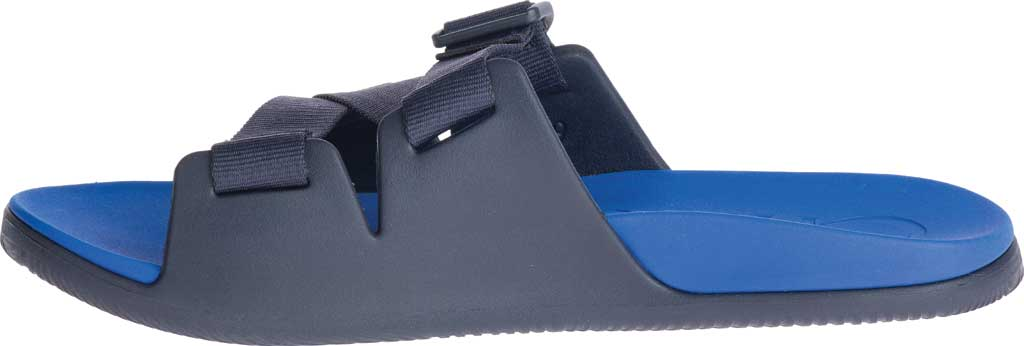 Men's Chaco Chillos Vegan Slide, Active Blue, large, image 3