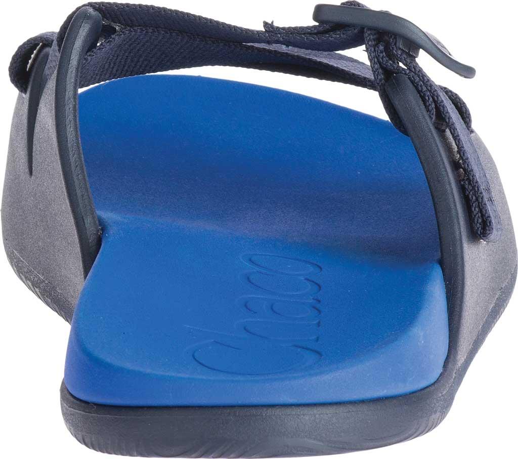 Men's Chaco Chillos Vegan Slide, Active Blue, large, image 4