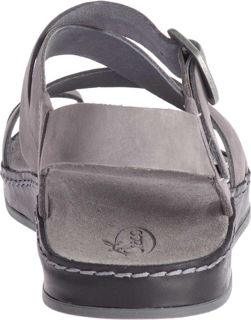 Women's Chaco Wayfarer Toe Loop Sandal, Grey Full Grain Leather, large, image 4