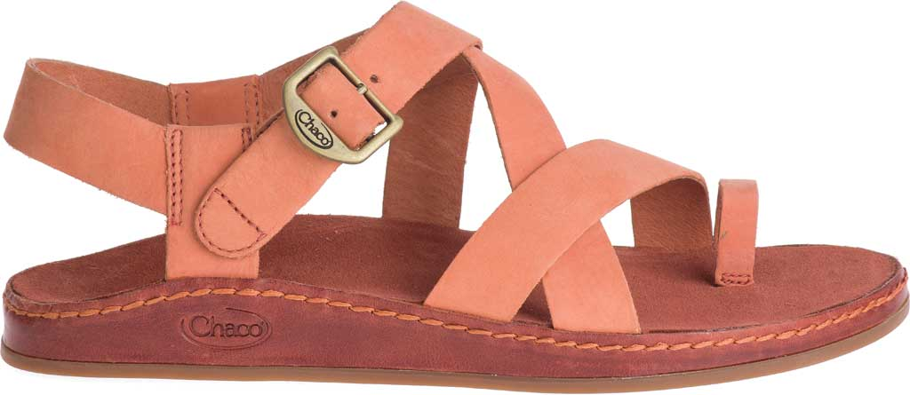 Women's Chaco Wayfarer Toe Loop Sandal, Carnelian Full Grain Leather, large, image 2