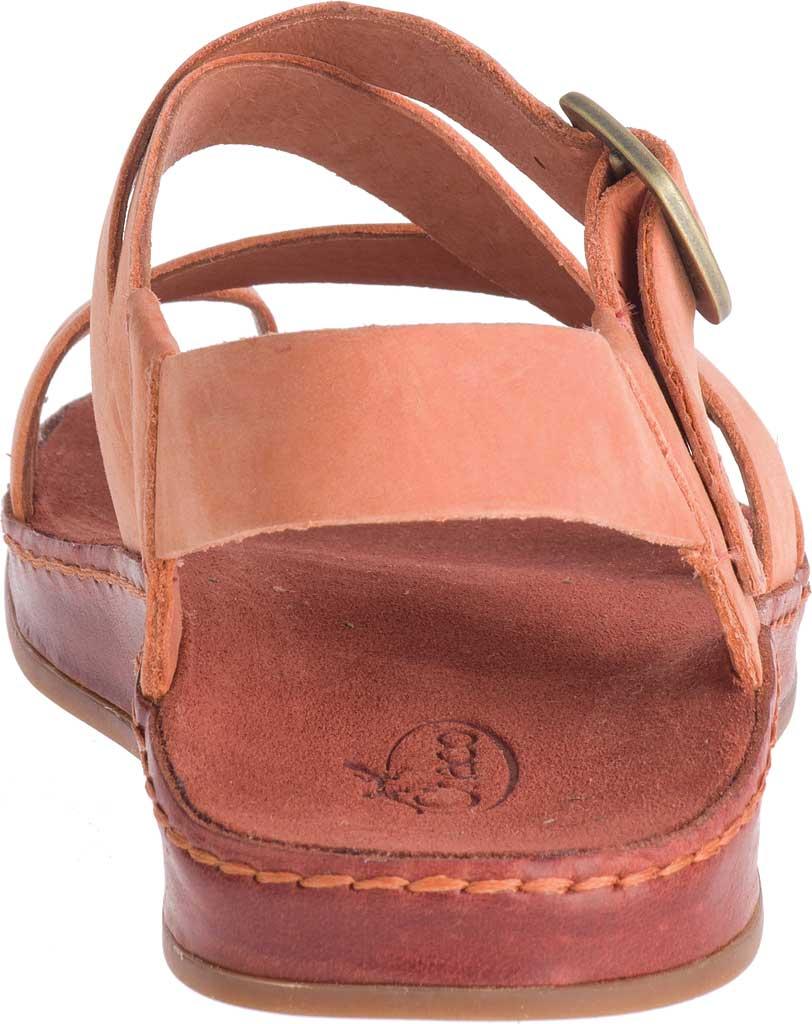 Women's Chaco Wayfarer Toe Loop Sandal, Carnelian Full Grain Leather, large, image 4