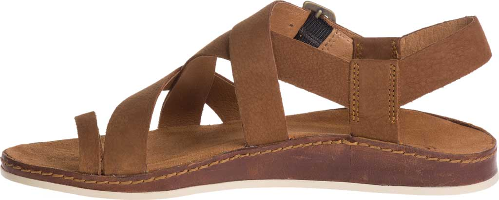 Women's Chaco Wayfarer Toe Loop Sandal, Toffee Full Grain Leather, large, image 3