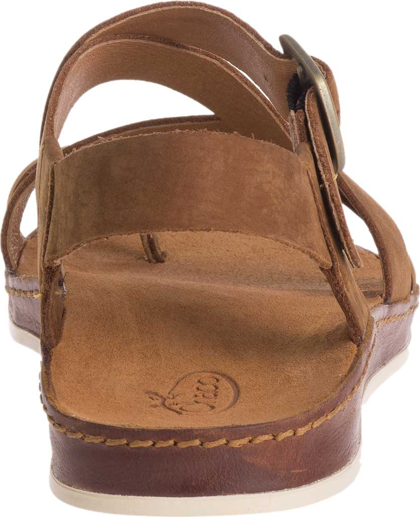 Women's Chaco Wayfarer Toe Loop Sandal, Toffee Full Grain Leather, large, image 4