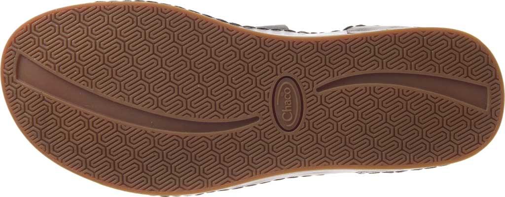 Women's Chaco Wayfarer Toe Loop Sandal, Black Full Grain Leather, large, image 6