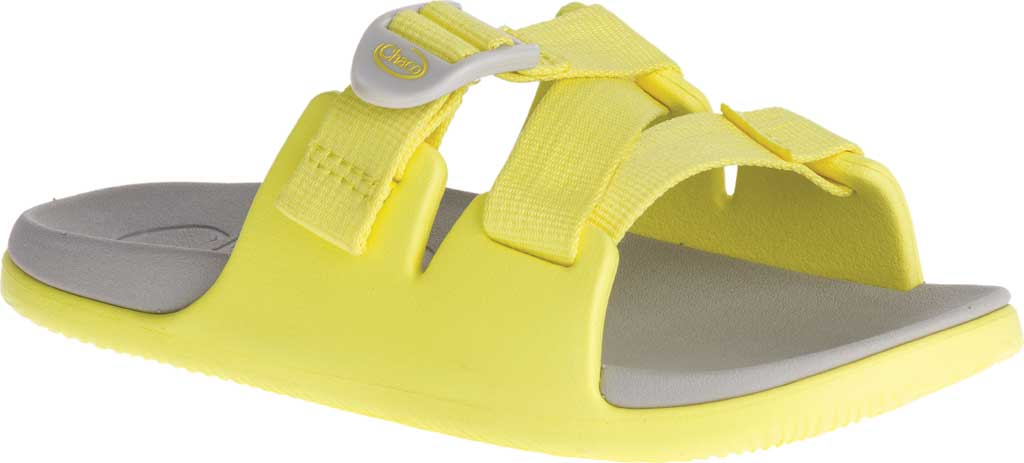 Children's Chaco Chillos Slide, Limelight, large, image 1
