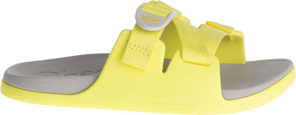 Children's Chaco Chillos Slide, Limelight, large, image 2