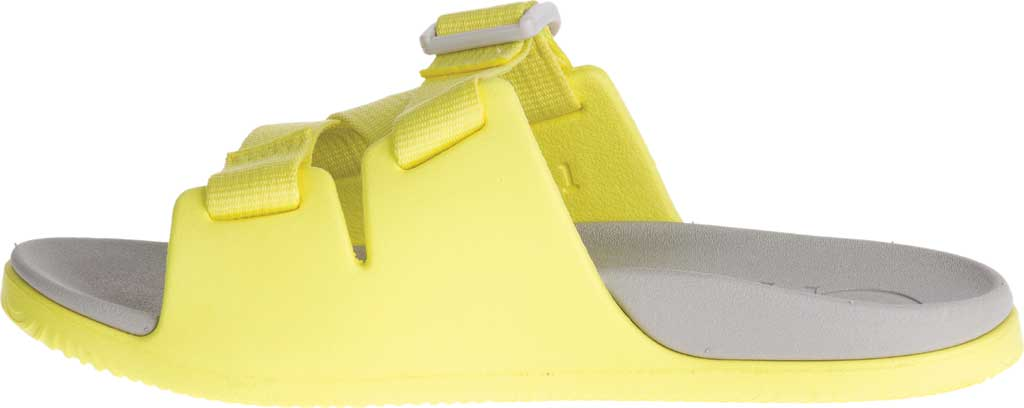 Children's Chaco Chillos Slide, Limelight, large, image 3