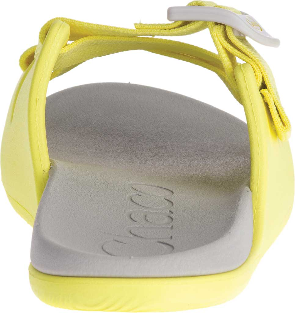 Children's Chaco Chillos Slide, Limelight, large, image 4