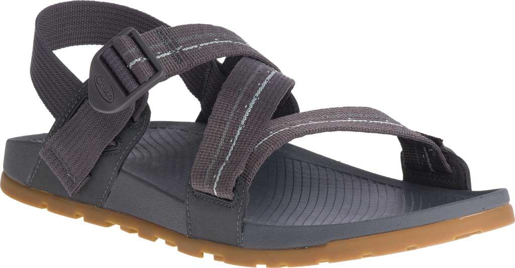 Men's Chaco Lowdown Active Sandal, Grey, large, image 1
